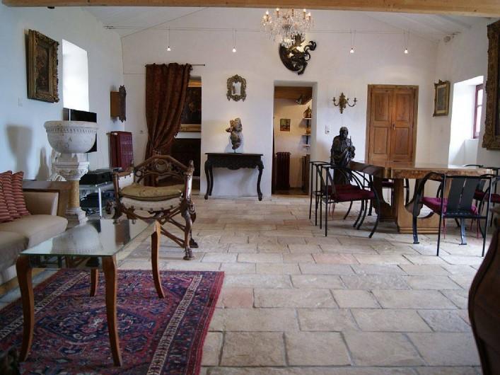 Location de vacances - Villa à Kassiopi - Villa Alexia. Le séjour.