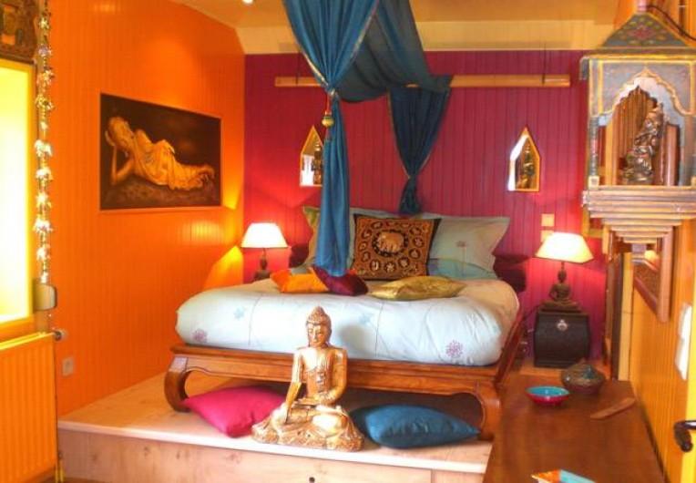 Location de vacances - Chambre d'hôtes à Martelange - Chambre Indonésienne