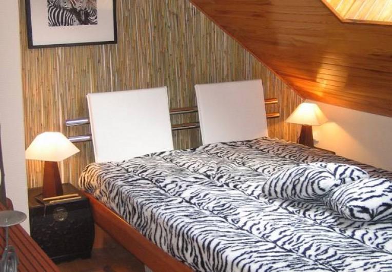 Location de vacances - Chambre d'hôtes à Martelange - Chambre Africaine