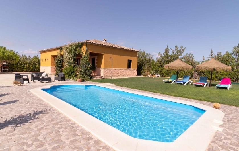 Location de vacances - Villa à Séville - piscine 9 x 4