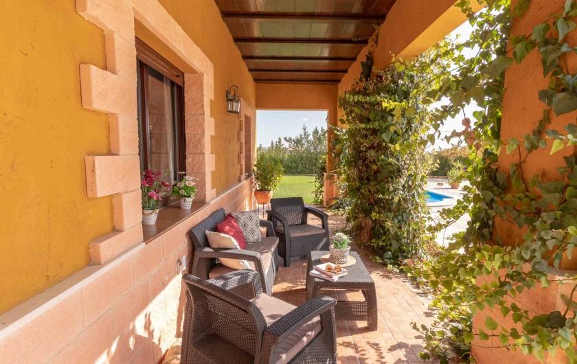 Location de vacances - Villa à Séville - pergola et barbecue