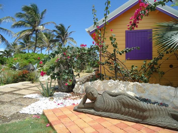 Location de vacances - Villa à Le Moule - Extérieur Bungalow Alizes