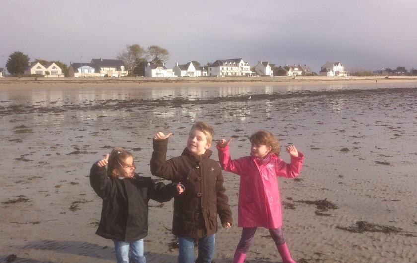 Location de vacances - Maison - Villa à Le Cleu - en hiver à la mer ramassage de moules