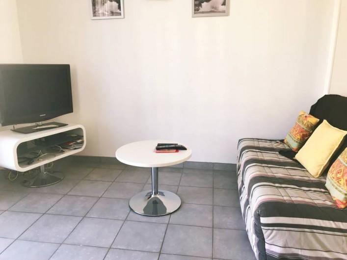 Location de vacances - Appartement à Cassis - SALON SEJOUR