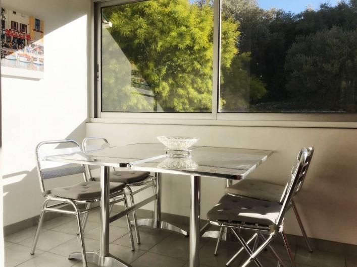 Location de vacances - Appartement à Cassis - LA VERANDA 2