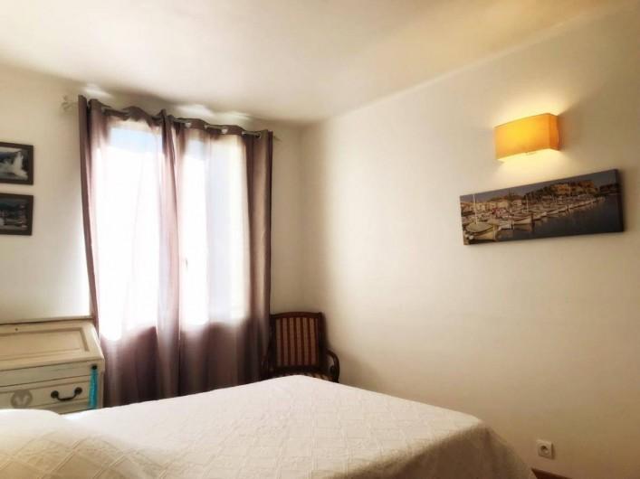 Location de vacances - Appartement à Cassis - CHAMBRE N°1