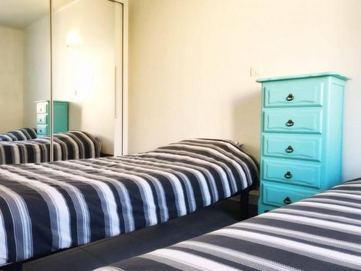 Location de vacances - Appartement à Cassis - CHAMBRE N°2