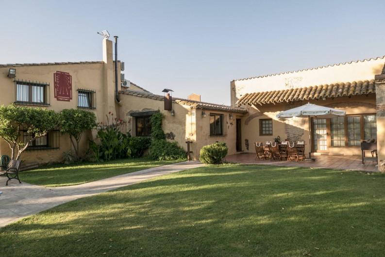 Location de vacances - Appartement à Castelló d'Empúries - L'entrée et le terrasse