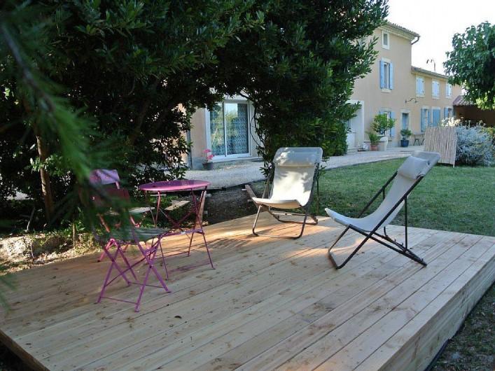 Location de vacances - Appartement à Caderousse - Pour un moment de détente après une journée de tourisme