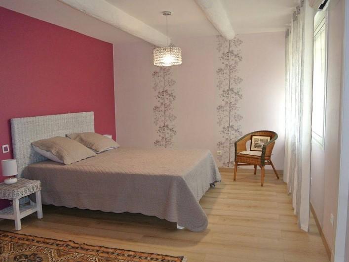Location de vacances - Appartement à Caderousse - La suite parentale