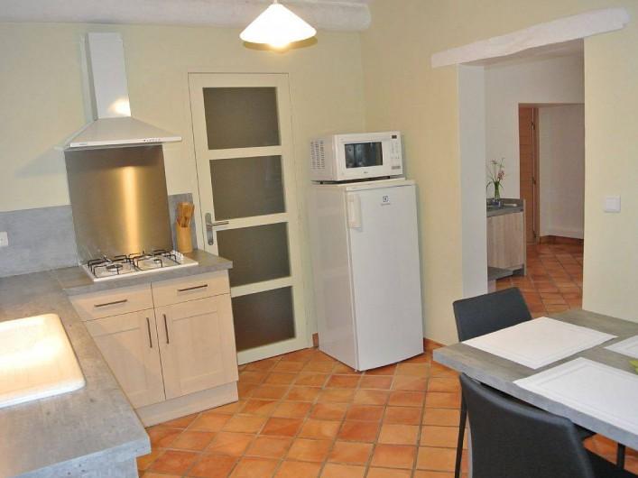 Location de vacances - Appartement à Caderousse - Petit réduit de rangement et accès au WC indépendant