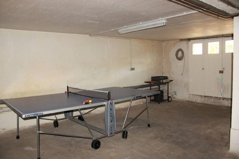 Location de vacances - Maison - Villa à Saint-Trojan-les-Bains - Sous sol