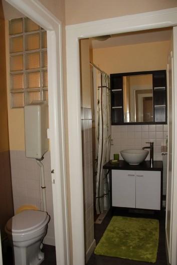Location de vacances - Maison - Villa à Saint-Trojan-les-Bains - Salle de douche et toilettes