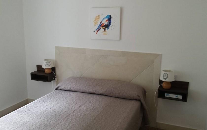 Location de vacances - Appartement à Roses - Chambre 1 & 2  Lit 160