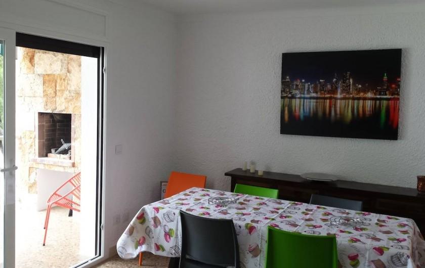 Location de vacances - Appartement à Roses - Coin repas