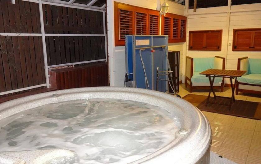 Location de vacances - Villa à Bouillante - Salle de Spa