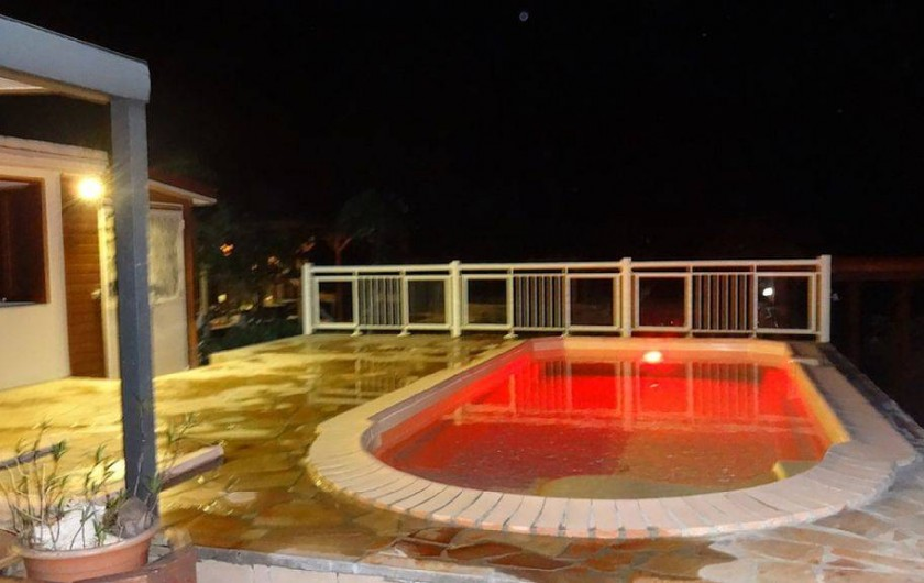 Location de vacances - Villa à Bouillante - La piscine