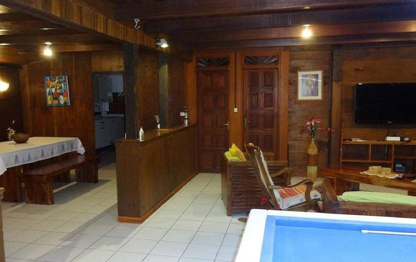 Location de vacances - Villa à Bouillante - Salle à manger