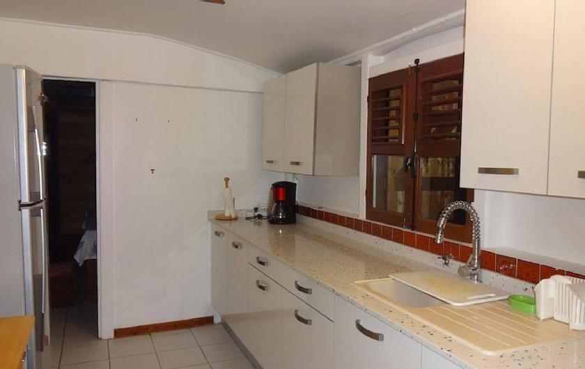 Location de vacances - Villa à Bouillante - la cuisine