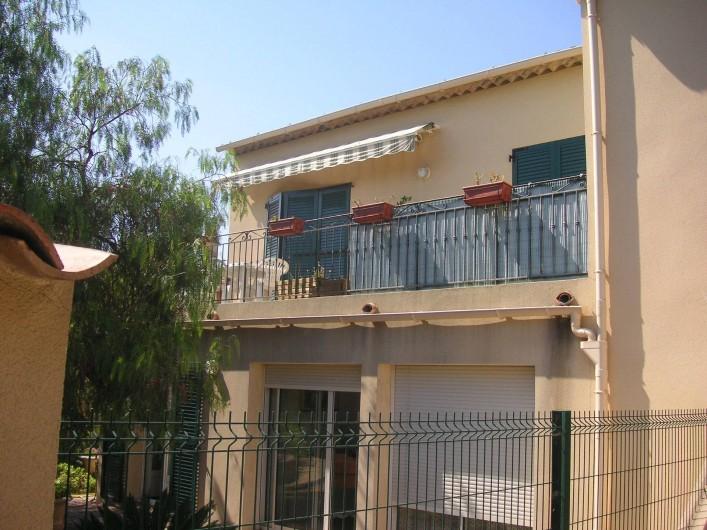 Location de vacances - Appartement à Fréjus Plage - 1er etage