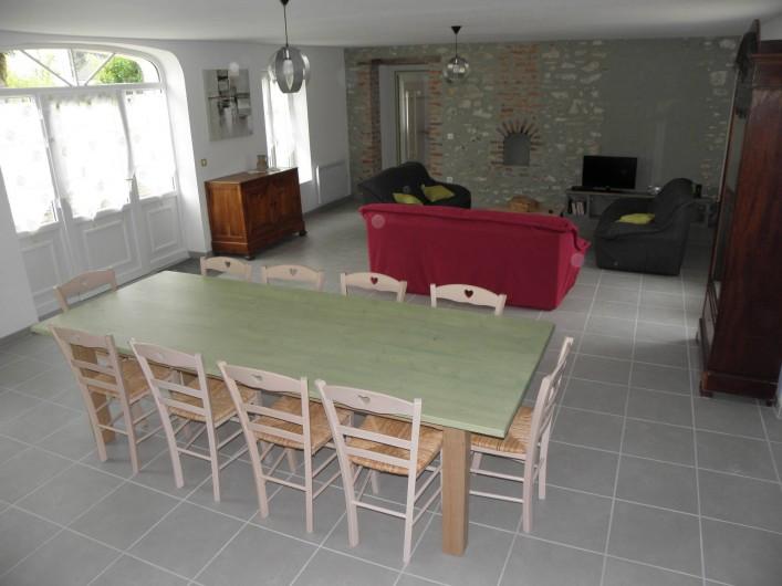 Location de vacances - Gîte à Châtillon-sur-Cher - SOLOGNE SALLE A MANGER + SALON
