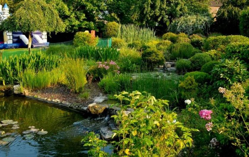 Location de vacances - Hôtel - Auberge à Philippeville - Notre jardin