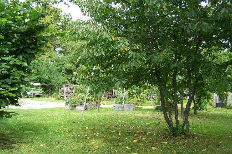 Location de vacances - Gîte à Dierre - Espace nature au jardin
