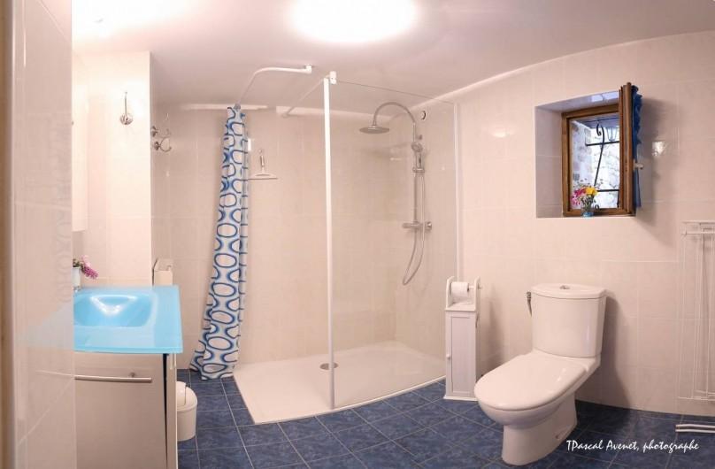 Location de vacances - Gîte à Dierre - Salle de bains spacieuse