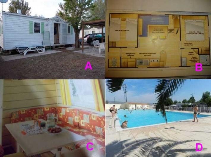 Location de vacances - Bungalow - Mobilhome à Saint-Aygulf - photo annonce