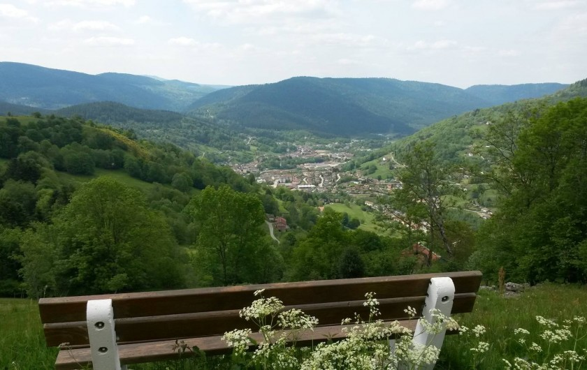 Location de vacances - Gîte à La Bresse - balade à partir de la station du brabant