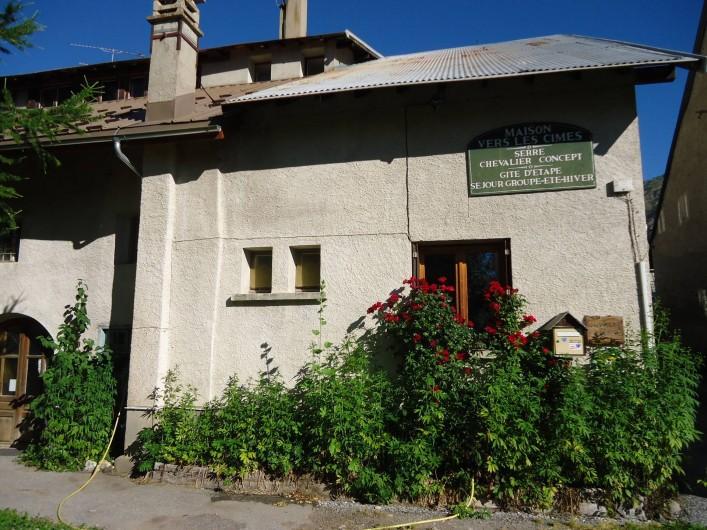 Location de vacances - Gîte à Le Monêtier-les-Bains - accueil en été