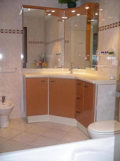 Location de vacances - Villa à Sanguinet - la salle de bain