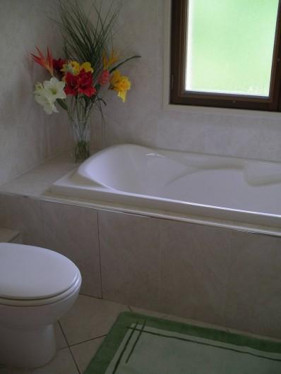 Location de vacances - Villa à Sanguinet - la baignoire
