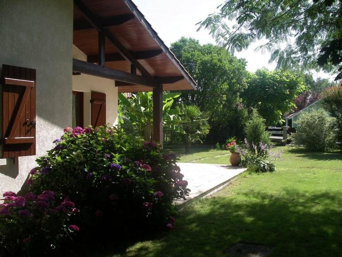 Location de vacances - Villa à Sanguinet - le jardin clos