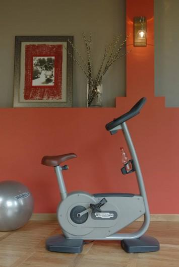 Location de vacances - Hôtel - Auberge à Rémalard - Salle Fitness