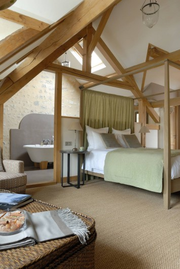 Location de vacances - Hôtel - Auberge à Rémalard - Suite Baldaquin