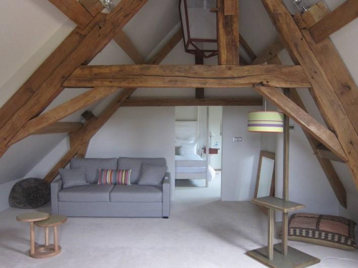 Location de vacances - Hôtel - Auberge à Rémalard - Suite Sous Les Toits