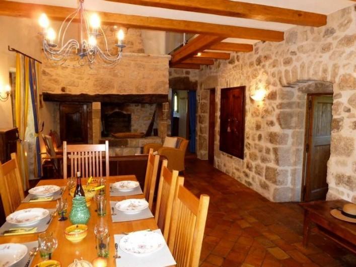 Location de vacances - Gîte à Rosières - Salle à manger
