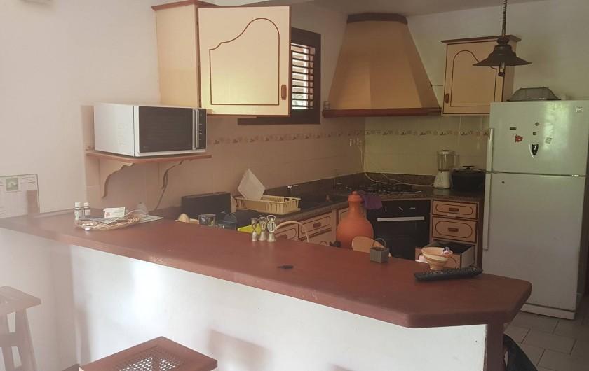 Location de vacances - Villa à Le Lamentin - cuisine