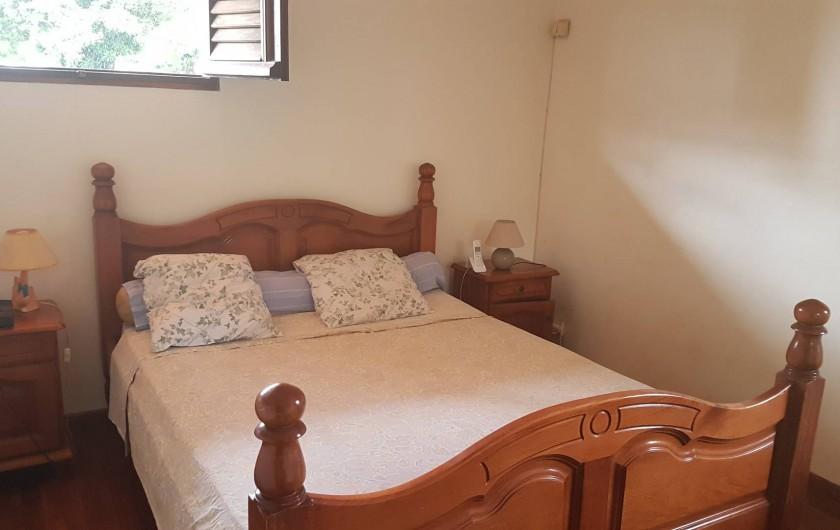 Location de vacances - Villa à Le Lamentin - chambre parentale