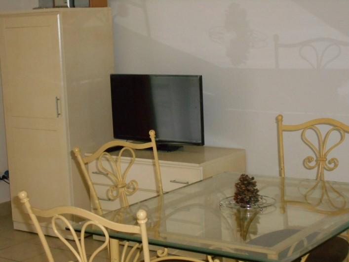 Location de vacances - Appartement à Alénya - TV écran plat