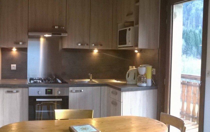 Location de vacances - Appartement à Abondance - Pièce principale
