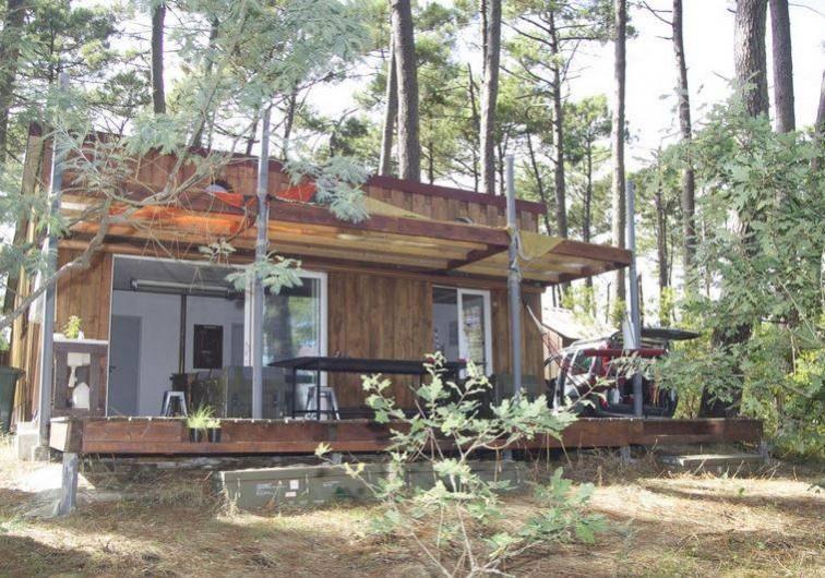 maison de vacances au bord du lac de sanguinet biscarrosse. Black Bedroom Furniture Sets. Home Design Ideas