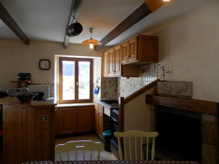 Location de vacances - Maison - Villa à Ploumoguer - Cuisine aménagée