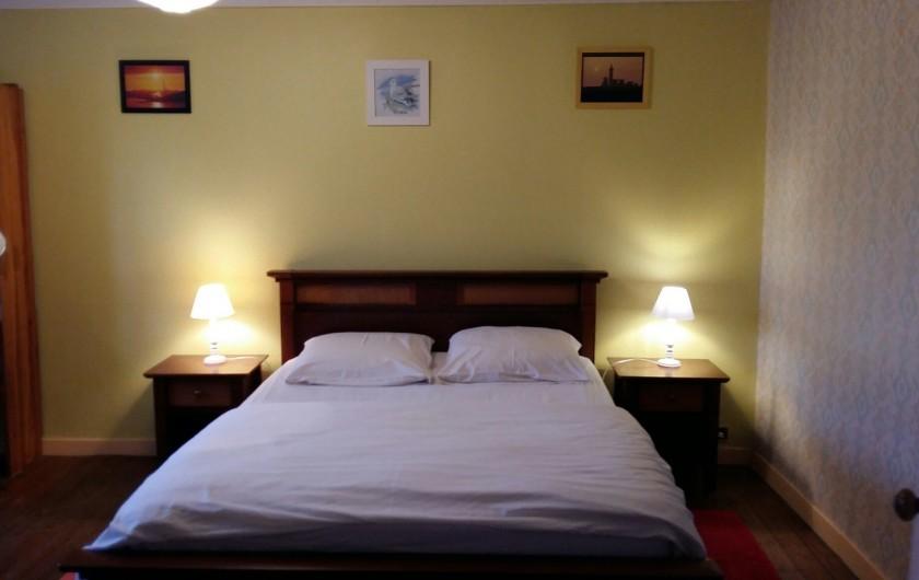 Location de vacances - Maison - Villa à Ploumoguer - Grande chambre