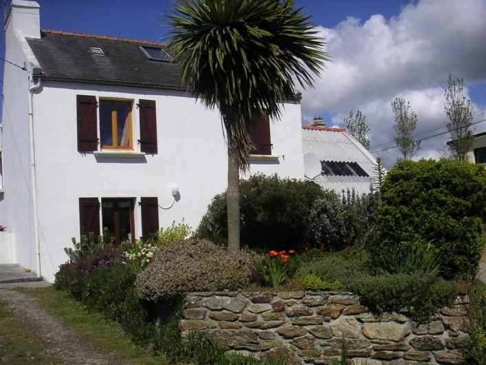 Location de vacances - Maison - Villa à Ploumoguer - La maison vue de la rue