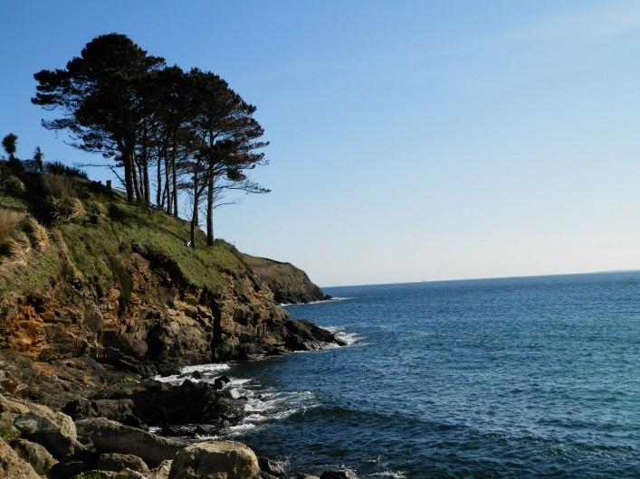 Location de vacances - Maison - Villa à Ploumoguer - La Côte au sud de la plage