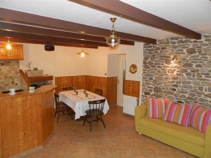 Location de vacances - Maison - Villa à Ploumoguer - Salle à manger - cuisine