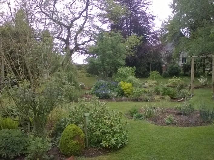 Location de vacances - Chambre d'hôtes à Bois-Guilbert - vue nord est
