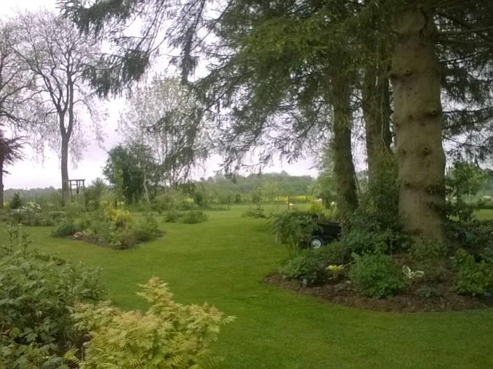 Location de vacances - Chambre d'hôtes à Bois-Guilbert - vue est